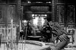 龍山寺。圖片來源:Xuite用戶 tostiven。