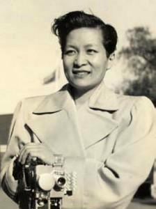 好萊塢第一位女性華人導演。圖片來源《好萊塢報導》