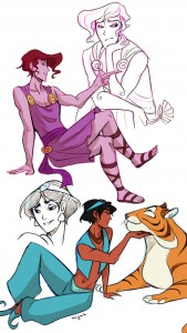 Disney性轉1
