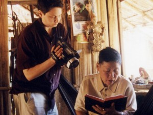Ruth Gumnit 在《泰國拉拉生存實錄》拍攝現場
