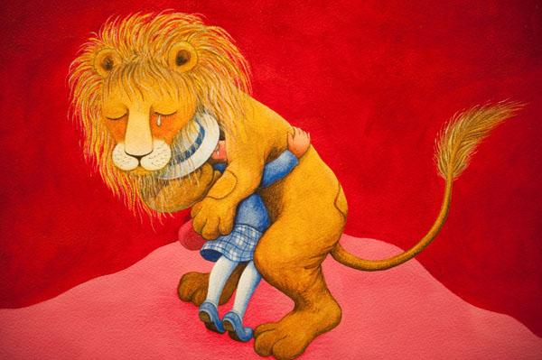 獅子的擁抱(幾米世界的角落特展)