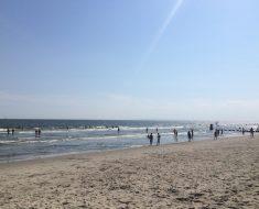 第一次的上空獻給了紐約的Riis海灘
